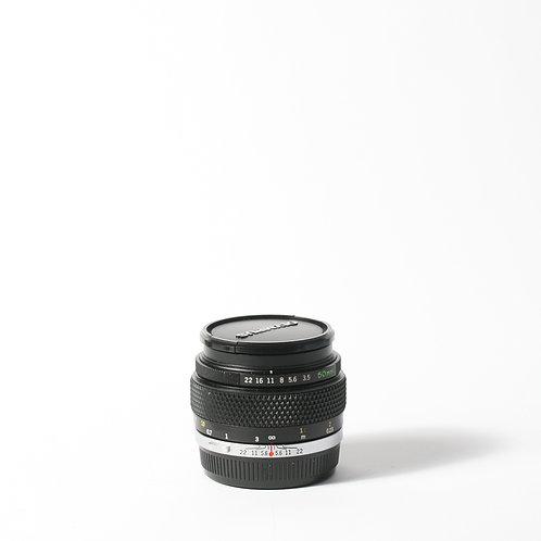 Olympus OM 50mm F3.5 Macro
