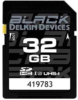 Delkin 32GB Black Rugged SD Card