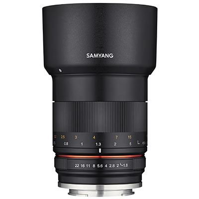 Samyang 85mm F1.8 ED UMC CS - Fujifilm X fit