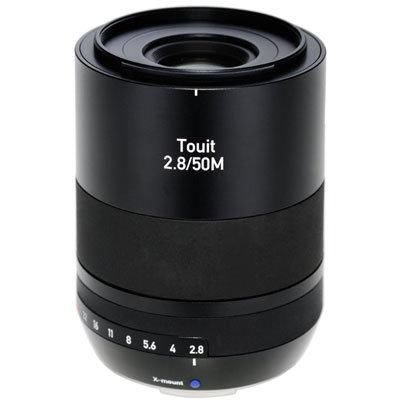 ZEISS 50mm f2.8 Makro Touit Lens - Fuji X Mount