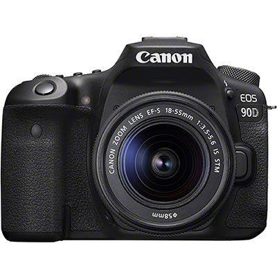 Canon EOS 90D & 18-55mm IS STM lens