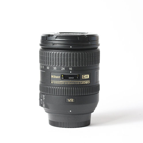 Nikon AF-S 16-85mm F3.5-5.6G ED DX VR