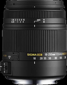 Sigma DC 18-250mm F3.5-6.3 Macro OS HSM - Nikon Fit