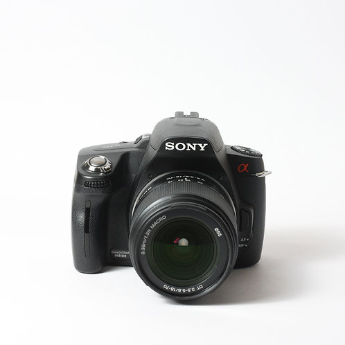 Sony A390 & 18-70mm DT