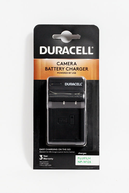 Duracell USB Charger for Fujifilm NP-W126