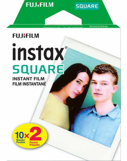 Fujifilm Instax Square Twin Pack - 20 Shots