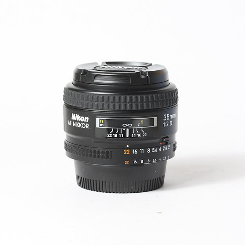 Nikon AF-D 35mm F2
