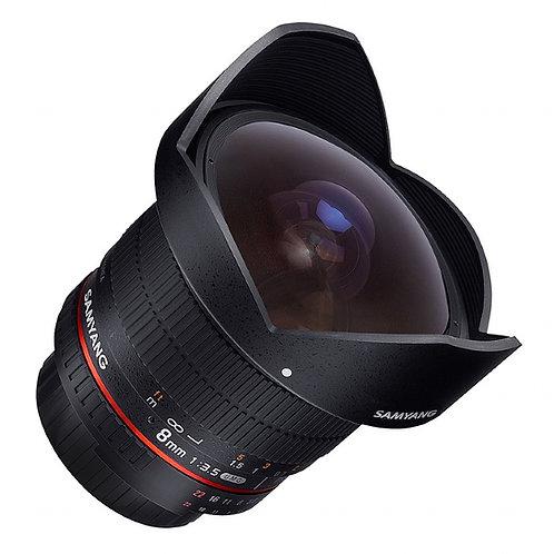 Samyang 8mm F3.5 UMC Fisheye CS II - Canon Fit
