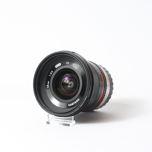 Samyang 12mm F2 NCS