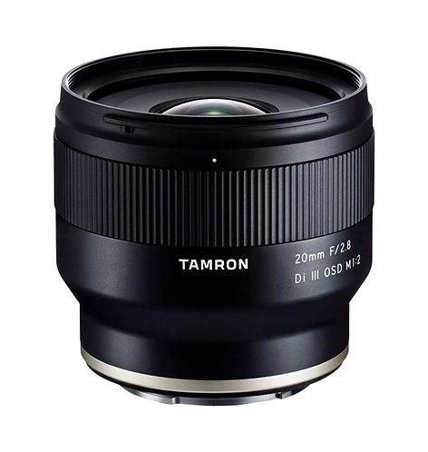 Tamron 20mm F2.8 Di III OSD Macro 1:2