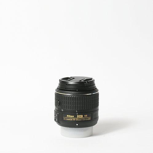 Nikon AF-S 18-55mm F3.5-5.6G DX VR II