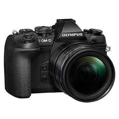 Olympus E-M1 II & 12-40mm F2.8 Pro - Black