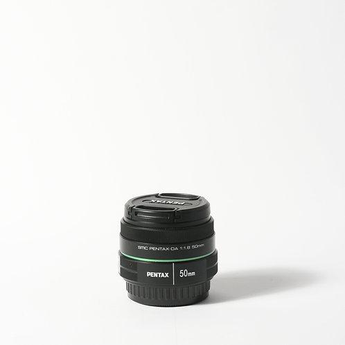 Pentax SMC 50mm F1.8 DA