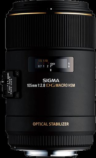 Sigma DG 105mm F2.8 Macro OS HSM - Canon Fit