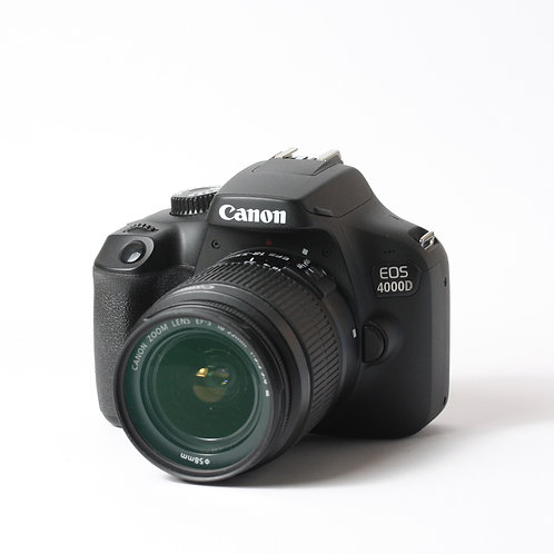 Canon 4000D & 18-55mm III
