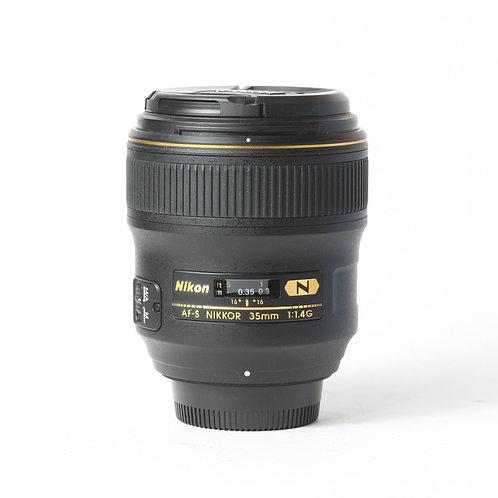 Nikon AF-S 35mm F1.4G