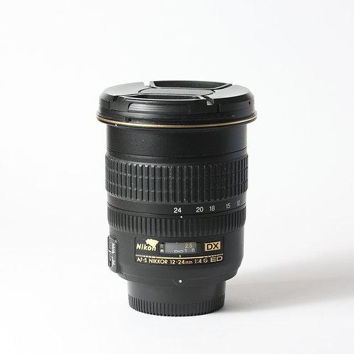 Nikon AF-S 12-24mm F4 DX ED