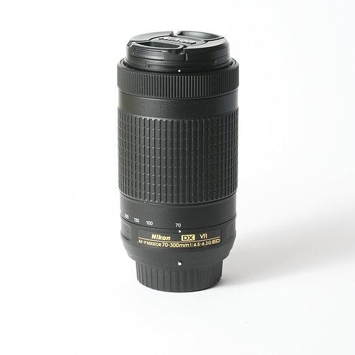 Nikon AF-P 70-300mm F4.5-6.3G DX VR