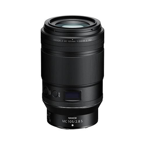 Nikon Z 105mm F2.8 VR S MC