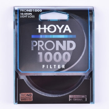 Hoya ProND 1000 Neutral Density 10 Stop Filter