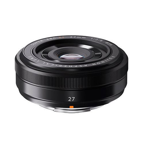 FUJIFILM XF 27mm F2.8 - Black