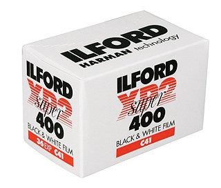 Ilford XP2 Super 35mm film (36 exp)