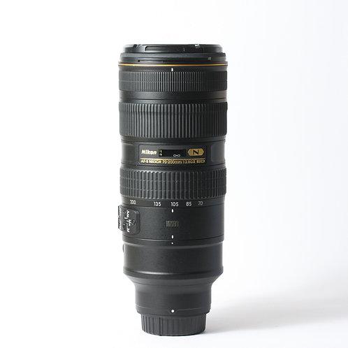 Nikon AF-S 70-200mm F2.8 VR II