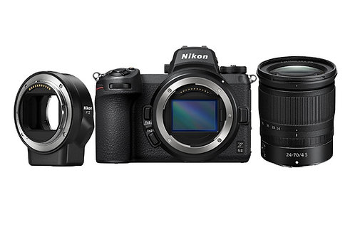 Nikon Z 6II & 24-70mm F4 & FTZ Adapter