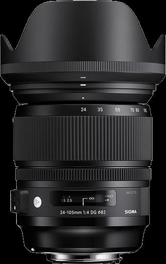 Sigma DG 24-105mm F4 OS HSM Art - Nikon Fit