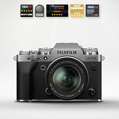 Fujifilm X-T4 & 18-55mm - Silver