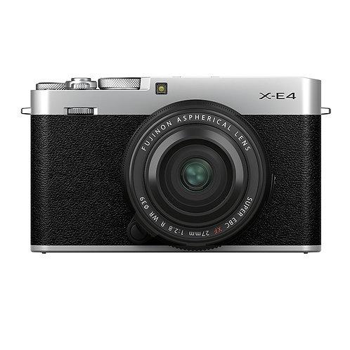 Fujifilm X-E4 & XF 27mm F2.8 R WR