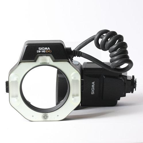 Sigma EM-140 DG Nikon Fit Ring Flash