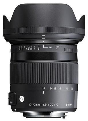 Sigma DC 17-70mm F2.8-4 Macro OS HSM - Nikon Fit