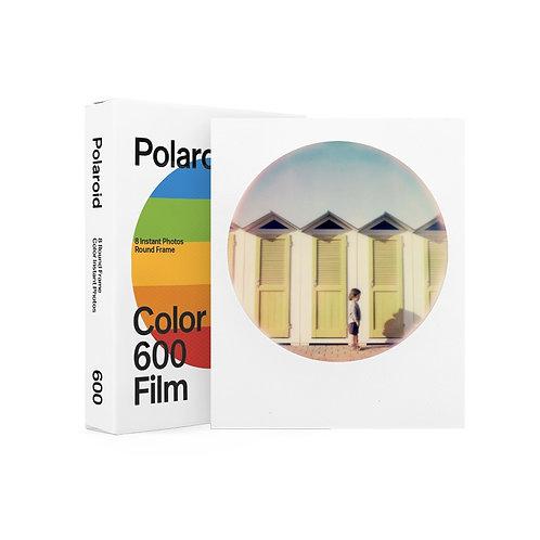 Polaroid 600 Color Round Frame Film