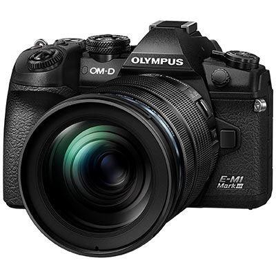 Olympus E-M1 III & 12-100mm F4 IS Pro - Black