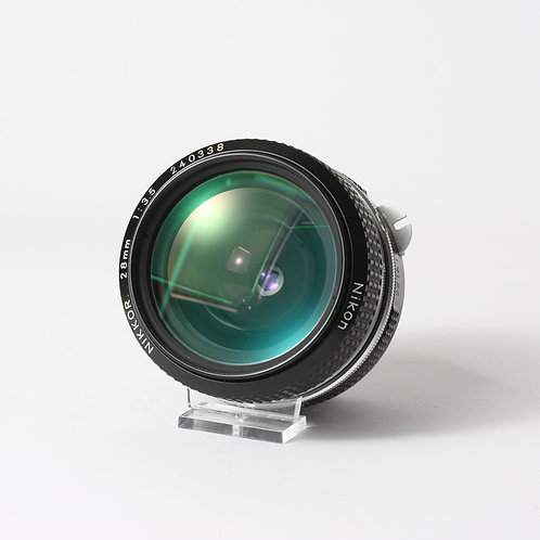 Nikon 28mm F3.5 Pre-Ai