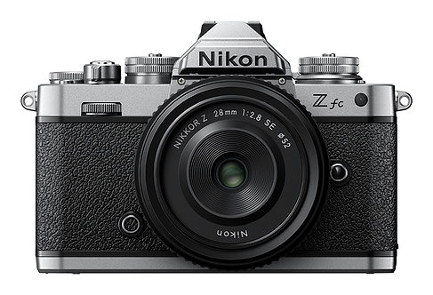 Nikon Z fc with 28mm F2.8 SE lens