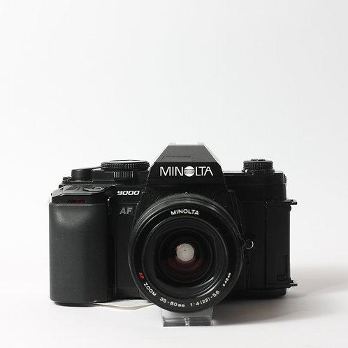 Minolta 9000 AF & 35-80mm F4-5.6