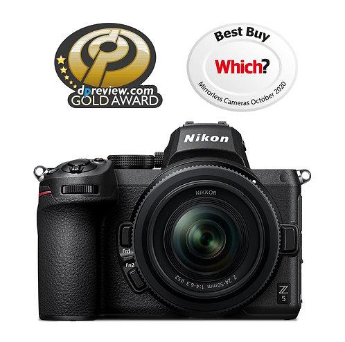 Nikon Z5 & 24-50mm lens kit