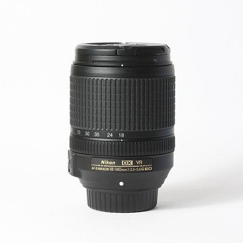 Nikon AF-S 18-140mm F3.5-5.6G ED DX VR