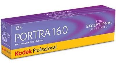 Kodak Portra 160 Professional Film 35mm Pack of 5