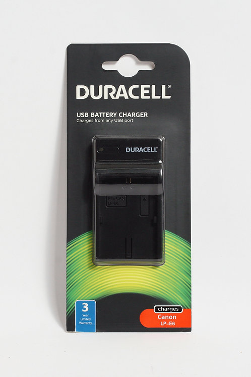 Duracell USB Charger for Canon LP-E6