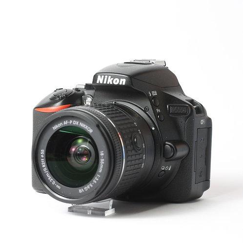 Nikon D5500 & AF-P 18-55mm VR