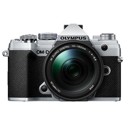 Olympus E-M5 III Digital Camera with 14-150mm Lens - Silver