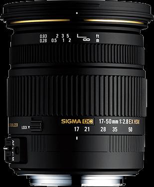 Sigma DC 17-50mm F2.8 EX OS HSM - Nikon Fit