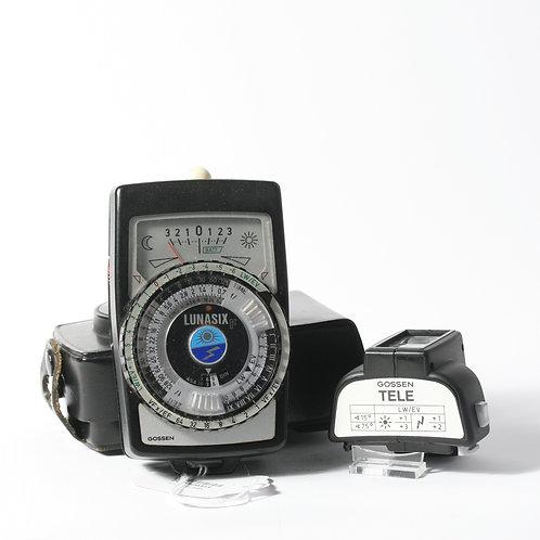 Gossen Lunasix F Lightmeter & Tele View Adapter