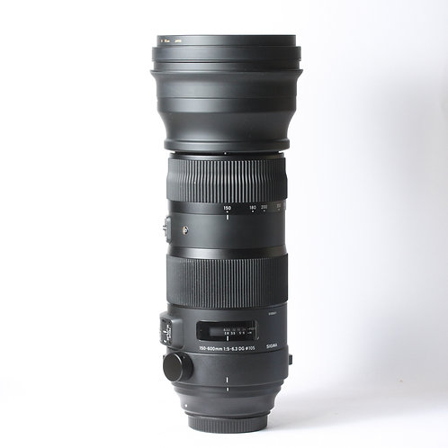 Sigma DG 150-600mm F5-6.3 OS Sport