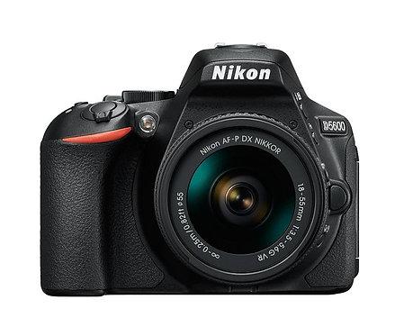 Nikon D5600 & 18-55mm VR lens