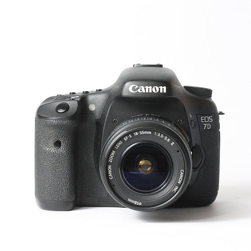 Canon EOS 7D & EF-S 18-55mm II