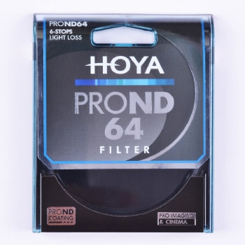 Hoya ProND 64 Neutral Density 6 Stop Filter